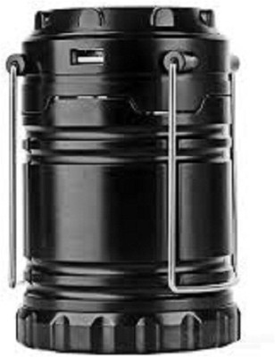 Kallpvraksh RECHARGEABLE CAMPING LANTERN Emergency Lights(Black)