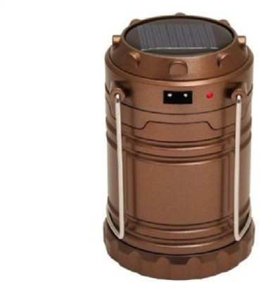 Kallpvraksh RECHARGEABLE CAMPING LANTERN Emergency Lights(Brown)