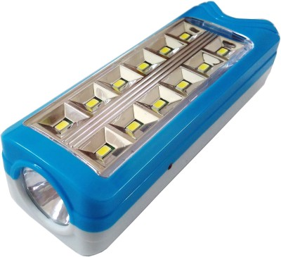 Tuscan 13 Ultra Bright SMD LED Solar Rechargeable Emergency Lights(Blue, Red)  available at flipkart for Rs.419
