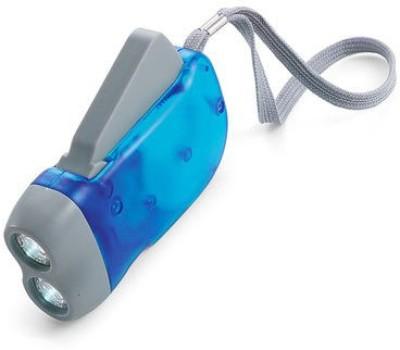Big Impex hand pressing flash light Emergency Lights(Blue)  available at flipkart for Rs.170