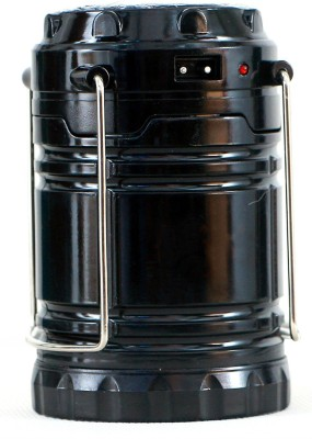 Shrih USB Mobile Charging Point LED Solar Lantern Emergency Lights(Black)