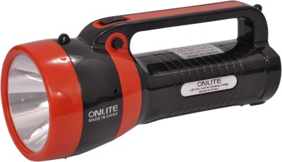 Onlite L 6474a Torch(Black : Rechargeable) at flipkart