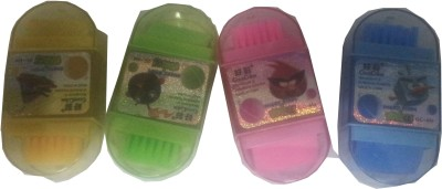 Hina Birthday Return Gifts 3 In 1 Eraser Sharpner Brush Non Toxic