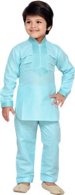 AJ Dezines Boys Pathani Suit Set