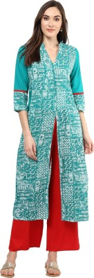 Jaipur Kurti Women Kurta and Palazzo Set at flipkart