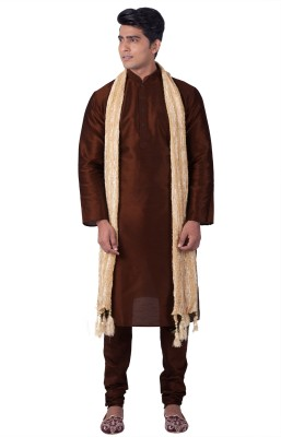 Sanwara Men Kurta, Churidar & Dupatta Set at flipkart