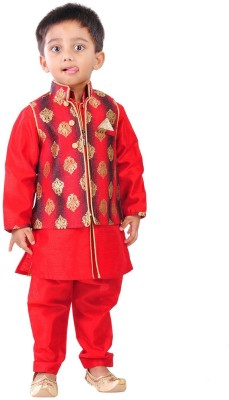 Yuvraaj Boys Kurta and Dhoti Pant Set