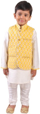 Yuvraaj Boys Kurta and Churidar Set