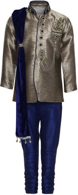 AJ Dezines Boys Festive & Party sherwani and Churidar Set  available at flipkart for Rs.4199