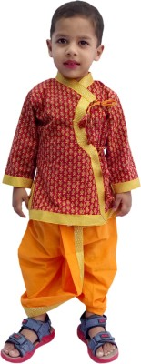RTD Boys Dhoti & Kurta Set
