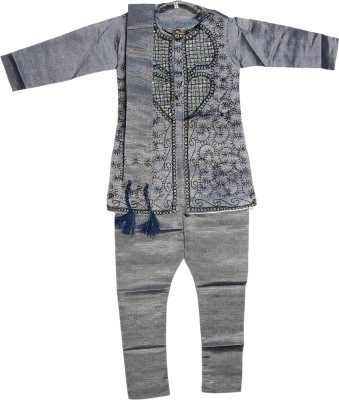 Riya Fashion Boys Kurta, Pyjama & Dupatta Set