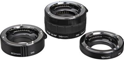 Kenko Auto Extension Tube Set DG 12, 20, 36mm Tube for Sony Alpha Adjustable Macro Extension Tube Pack of 1