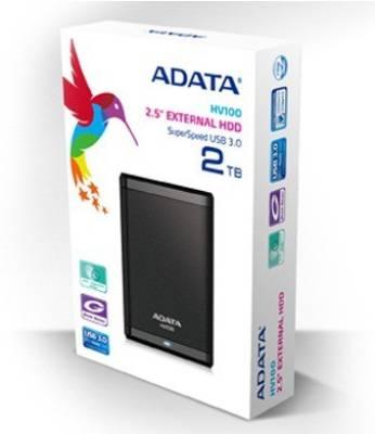 Adata HV100 2 TB External Hard Disk Image