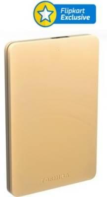 Toshiba Canvio Alumy 2TB External Hard Drive Image