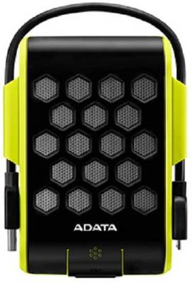 Adata 1 TB Wired HDD  External Hard Drive (Green)