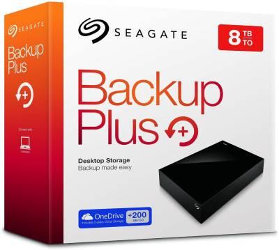 Seagate Backup Plus (STDT8000300) 8 TB external hard disk Image