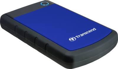 Transcend StoreJet 25H3P 2.5 Inch USB 3.0 1 TB External Hard Disk Image