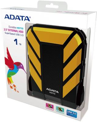 ADATA 2 TB Wired External Hard Disk Drive