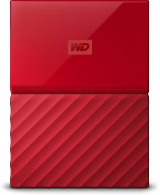 WD My Passport (WDBYFT0020B-WESN) 2TB Portable External Hard Drive Image