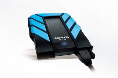 Adata Dashdrive HD710 2 TB Wired  External Hard Drive (Blue)