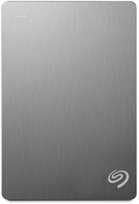 Seagate Backup Plus Portable Drive 4 TB External Hard Disk Drive(Silver) at flipkart