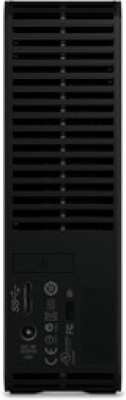 WD 3 TB Wired External Hard Disk Drive(Black, External Power Required)