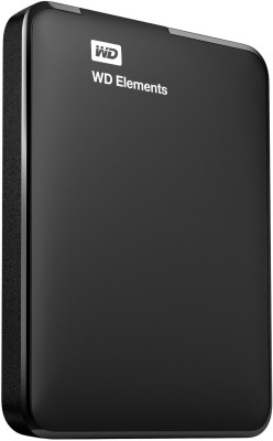 WD 1 TB Wired External Hard Disk Drive(Black)  available at flipkart for Rs.4399