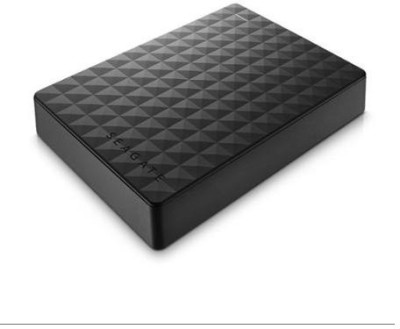 Seagate 4 TB Wired External Hard Disk Drive(Black) at flipkart