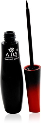 ADS WATERPROOF EYELINER Liner & Rubber Band -PHMH-M 9 g(Black)  available at flipkart for Rs.110