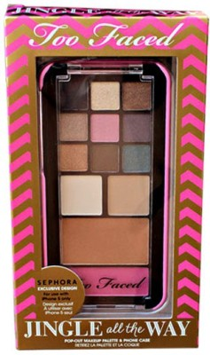 Too Faced Jingle All The Way Eye Shadow Palette 5.44 g(Red Pink-13)  available at flipkart for Rs.2316