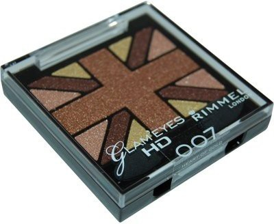 Rimmel London HD Eye Shadow Quad 2.5 g(Heart of Gold -007)  available at flipkart for Rs.750