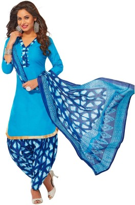 Jevi Prints Cotton Blend Solid Salwar Suit Material(Unstitched)