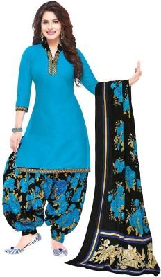 Jevi Prints Cotton Solid Salwar Suit Dupatta Material(Unstitched)