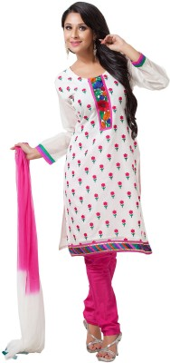 Aapno Rajasthan Cotton Floral Print Salwar Suit Dupatta Material(Un-stitched)  available at flipkart for Rs.3199