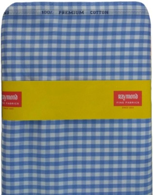 77b31f342ff 8% OFF on Raymond Cotton Checkered Shirt Fabric(Un-stitched) on Flipkart