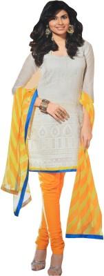 LT Cotton Self Design Semi-stitched Salwar Suit Dupatta Material  available at flipkart for Rs.4750