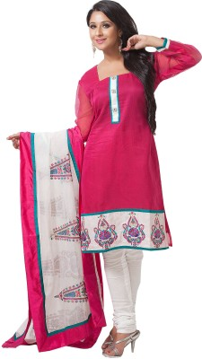 Aapno Rajasthan Cotton Printed Salwar Suit Dupatta Material(Un-stitched)  available at flipkart for Rs.3399