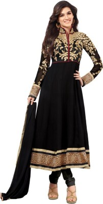 4cf1a5599 57% OFF on Tulsi Creation Georgette Embroidered Semi-stitched Salwar Suit  Dupatta Material on Flipkart