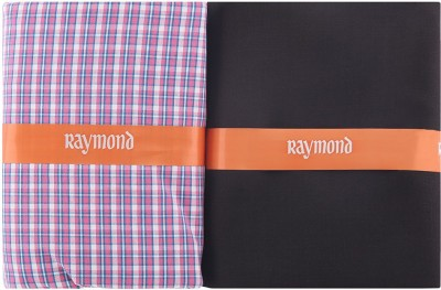 6d680433ebb Buy Raymond Cotton Polyester Blend Checkered Shirt   Trouser Fabric(Unstitched)  on Flipkart