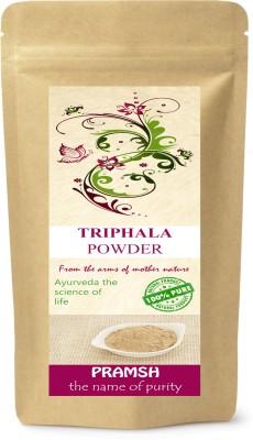 Pramsh Premium Quality Triphala Herbal Powder 200gm(200 g)  available at flipkart for Rs.175