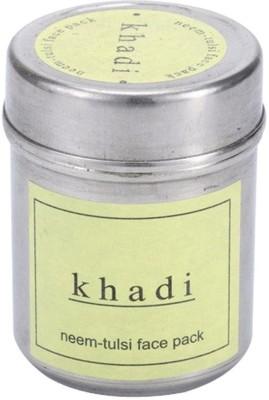 Khadi Herbal Neem Tulsi Face pack(50 g)  available at flipkart for Rs.105