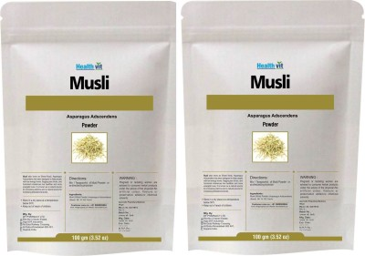 West Coast Healthvit Musli (WHITE) Powder 100gms Pack of 2(200 g)  available at flipkart for Rs.295