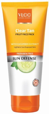 VLCC Clear Tan Fruits Face Pack, 100gm