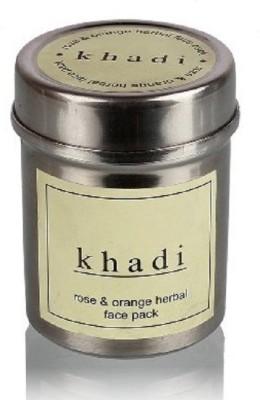 Khadi Herbal Rose & Orange face pack(50 g)  available at flipkart for Rs.100