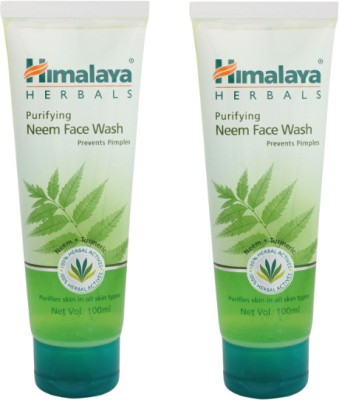 Himalaya Purifying Neem Face Wash - Pack of 2 Face Wash(100 ml)