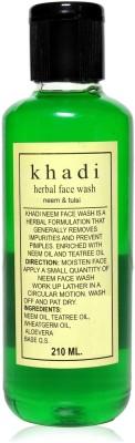 Khadi Herbal Neem Tulsi Face Wash 210ml
