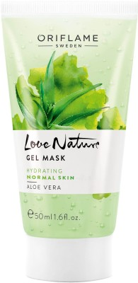 Oriflame Sweden Love Nature Gel Mask Aloe Vera Face Wash(50 ml)