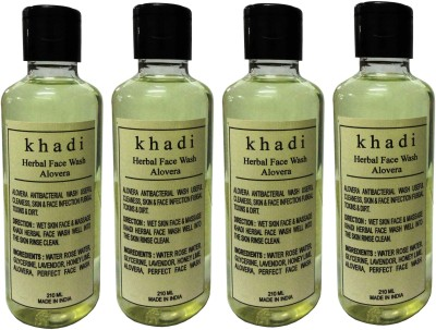 Khadi Herbal Aloevera  Face Wash(840 ml) at flipkart