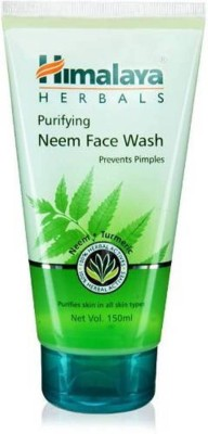Himalaya Neem Face Wash(150 ml)  available at flipkart for Rs.150