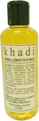 Khadi Herbal Lemon Face Wash 210ml